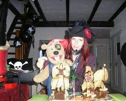 Ciboulette et Oscar - Pirate