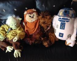 Ciboulette et Oscar - Star Wars