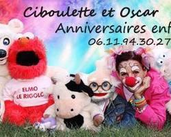 Ciboulette et Oscar - Anniversaires à thème