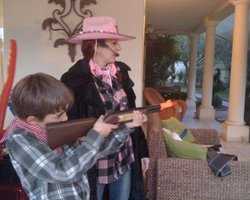Ciboulette et Oscar - Western
