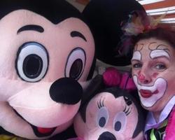 Ciboulette et Oscar - Clown