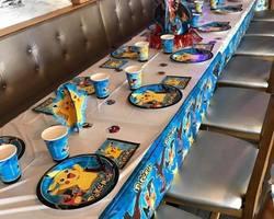 Ciboulette et Oscar - Décoration de salle et de tables